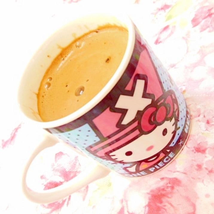 ❤ふわラテと酒粕の生姜蜂蜜珈琲❤