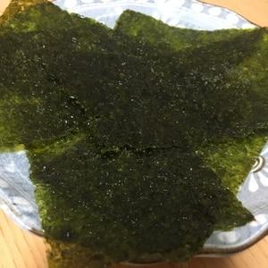 日本一簡単?手作り韓国海苔