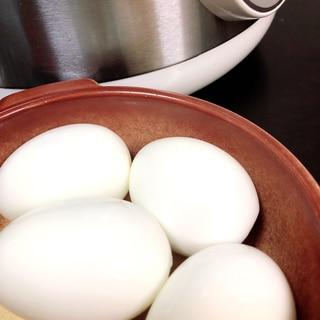電気圧力鍋でゆで卵