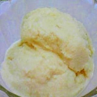 *牛乳とクリープでアイス作り*