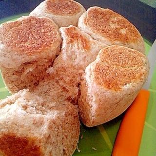 炊飯器で全粒粉パン