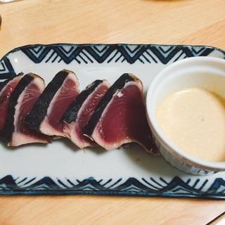 皮付き生鰹の美味しいタタキの食べ方