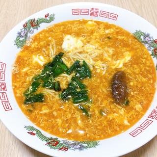 酸辣湯麺 (即席めんアレンジ)