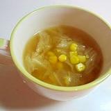 簡単!白菜スープ(*^_^*)