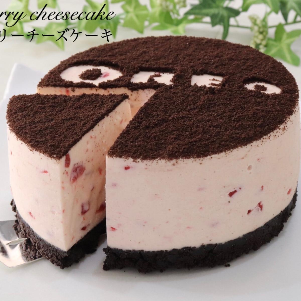 オレオ チーズ ケーキ 作り方