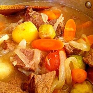 炊飯器でシチュー用のお肉を柔らかくする方法