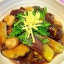 めんつゆで簡単★茄子とマッシュルームの煮浸し