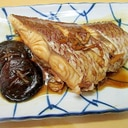 真鯛の煮つけ(椎茸添え)