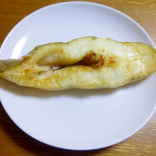 カレイの塩焼き