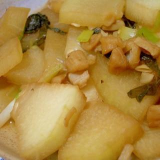 冬瓜と干し貝柱の煮物