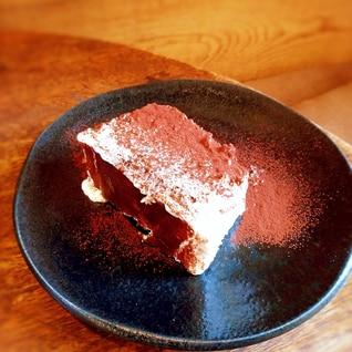 簡単リーズナブルなティラミス風ケーキ