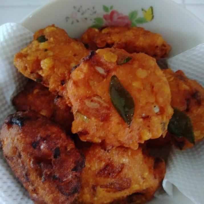 パリップワデ☆レンズ豆☆スリランカ家庭料理