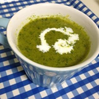 栄養たっぷり☆カボチャと小松菜のスープ