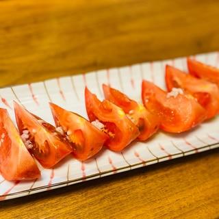 あと一品にも!おつまみにも!塩麹で旨味トマト