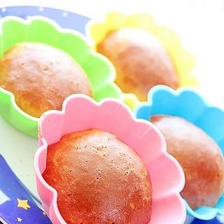 糖質オフ★捏ねない♪イーストパンケーキ