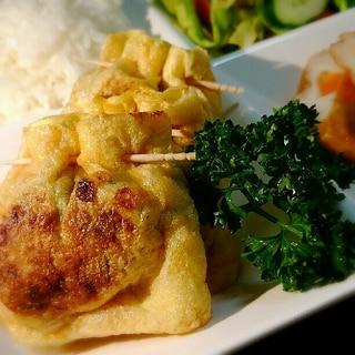 めちゃ旨簡単!万能肉味噌と納豆の薄揚げ焼き☆
