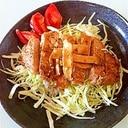 簡単うまうまロース焼き肉マヨネーズ丼