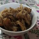 舞茸とツナのバター炒め