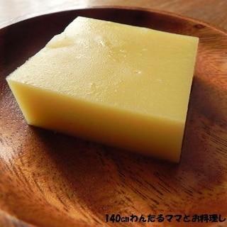 簡単★さつま芋のミルク寒天