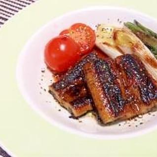 鰻のソテー バルサミコソース