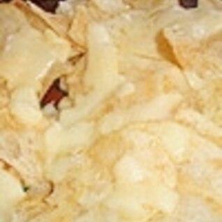 ポテトチップスにとろけるチーズ♪