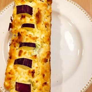 グルテンフリー!米粉とさつま芋のパウンドケーキ