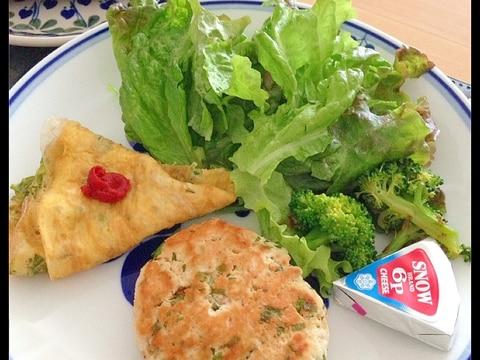 糖質制限★鶏胸肉ひき肉とおからのヘルシーハンバーグ