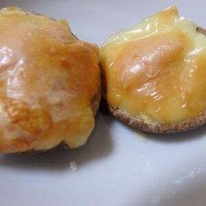お弁当に!簡単☆しいたけのマヨチーズ焼き
