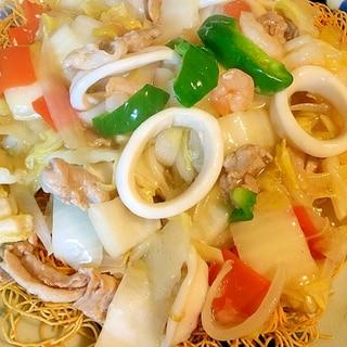 海鮮たっぷり☆皿うどん