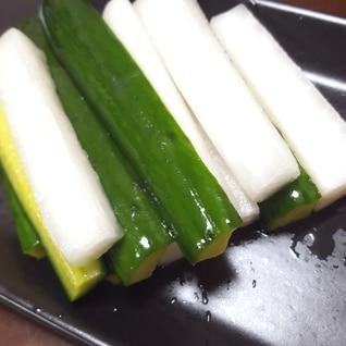 ★カンタン酢で♪大根ときゅうりのピクルス★