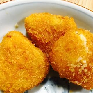 カンタン!6Pチーズの黒胡椒フライ