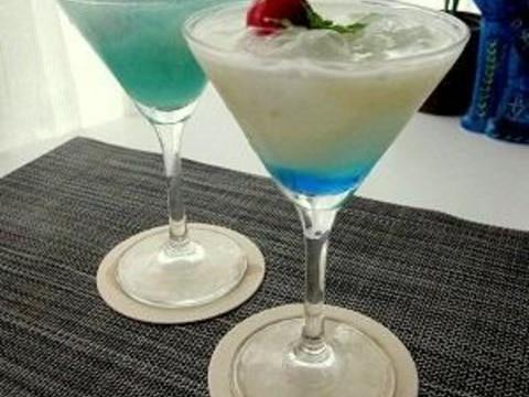 チャイナブルー風フローズンカクテル/ノンアルコール