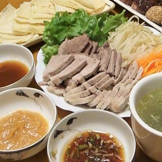 パーティー★茹で豚春餅(チュンピン)