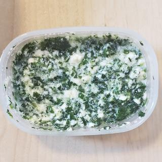 小松菜と豆腐☆離乳食中期