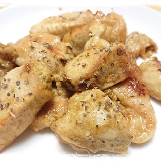 節約メイン☆鶏むね肉のカレーマヨ