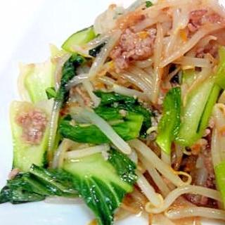 チンゲン菜&もやし☆中華炒め
