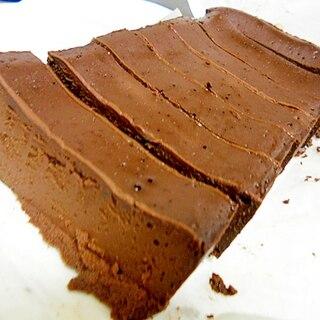 コツなし簡単 生チョコ風ガトーショコラ お店風