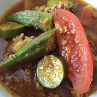 ルー無し 本格的な夏野菜カレー