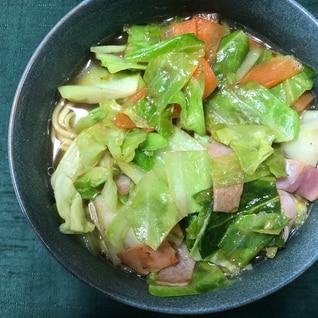 野菜たっぷりのせ!インスタントラーメン