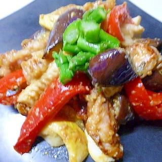 食欲増進♪鶏肉と野菜の味噌炒め☆
