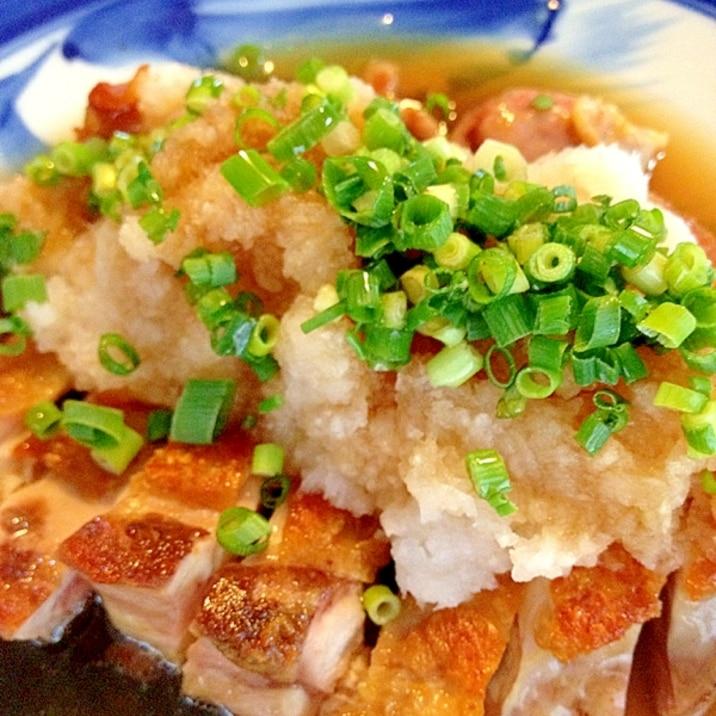 カリカリ☆もも焼きおろしポン酢