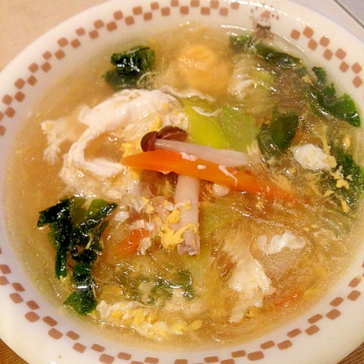 レシピ 春雨 スープ