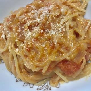 一つの鍋で簡単!トマトクリームパスタ