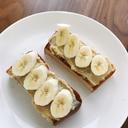 バナナカスタードトースト