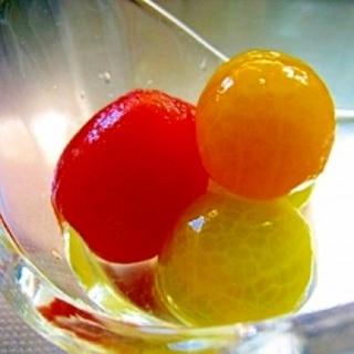 宝石トマト~ミニトマトのシロップ漬け~