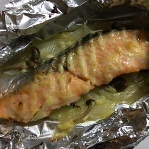 鮭のマヨネーズホイル焼き~BBQにも!