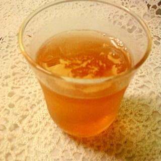 酸っぱさが売り☆カシスざくろ酢のジャスミン茶☆*: