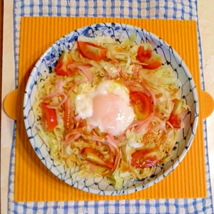 温玉のせ冷麺♪