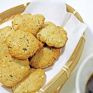 パンケーキミックスで★ざくざくヘルシー雑穀クッキー