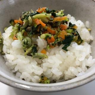簡単*しらすと野菜のソフトふりかけ